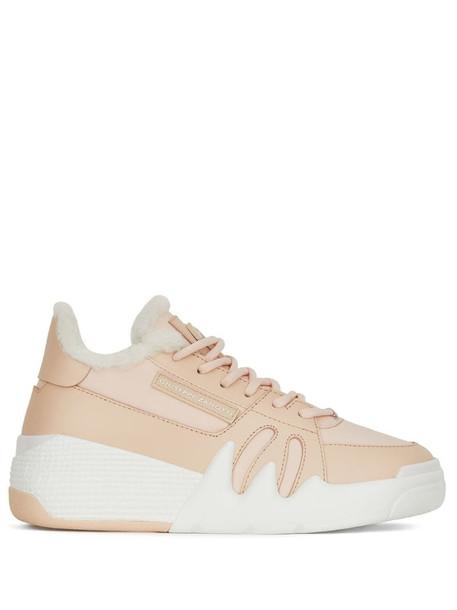 Giuseppe Zanotti Talons sneakers in pink