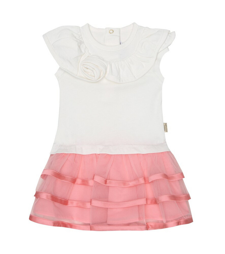 Little Marc Jacobs Baby jersey dress in white