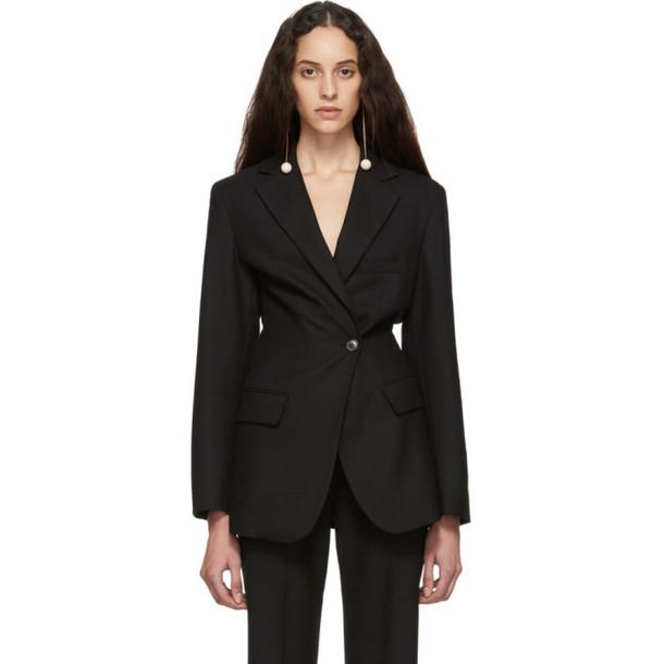 Jacquemus Black 'La Veste de Costume' Blazer