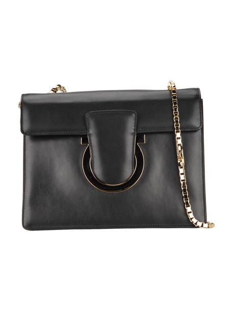 Salvatore Ferragamo Thalia Shoulder Bag in black