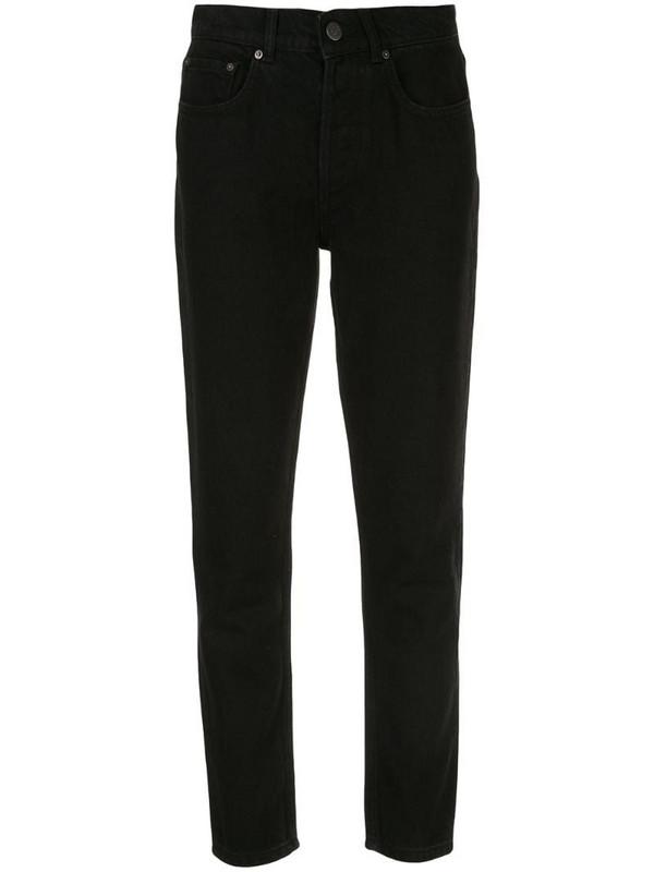 BOYISH DENIM The Billy straight-leg jeans in black