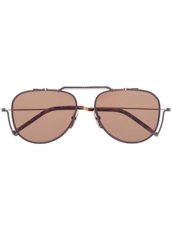 Thom Browne Eyewear TBS917 sunglasses in black