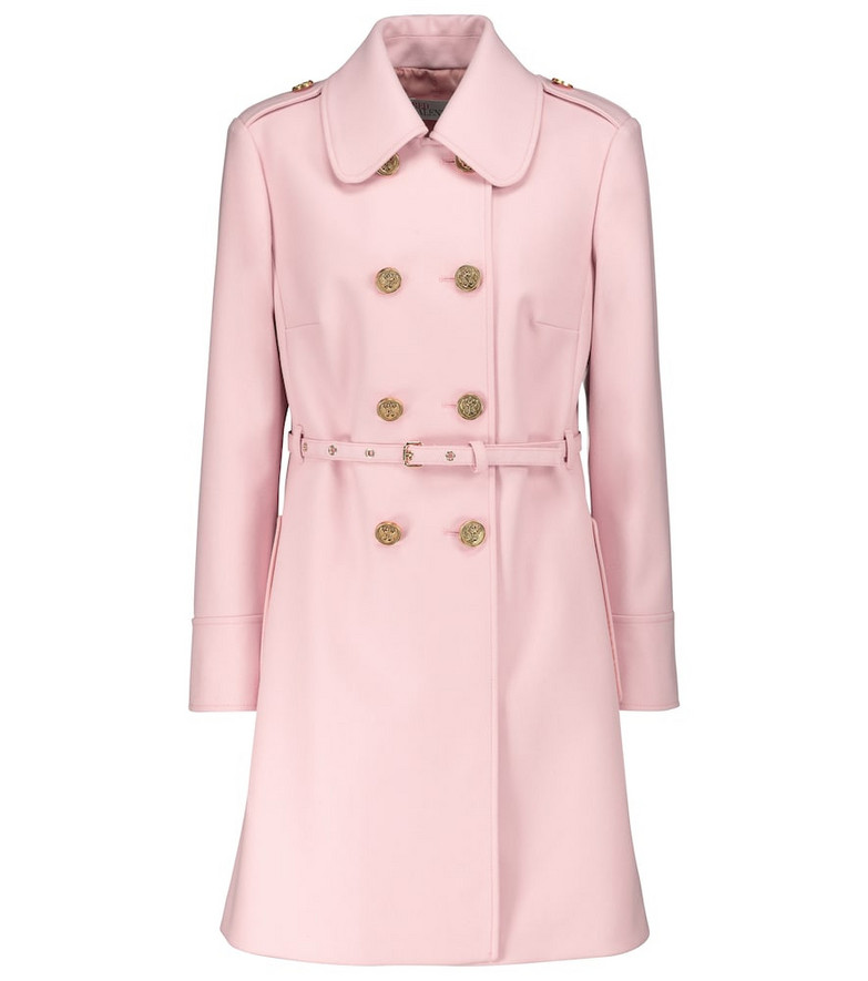 REDValentino wool-blend coat in pink