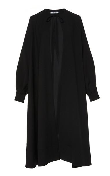 Deitas Grace Wool Blend Cape in black