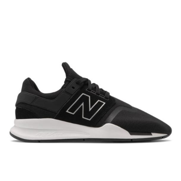 New Balance 247 Men's Sport Style Shoes - Black/White (MS247GI)