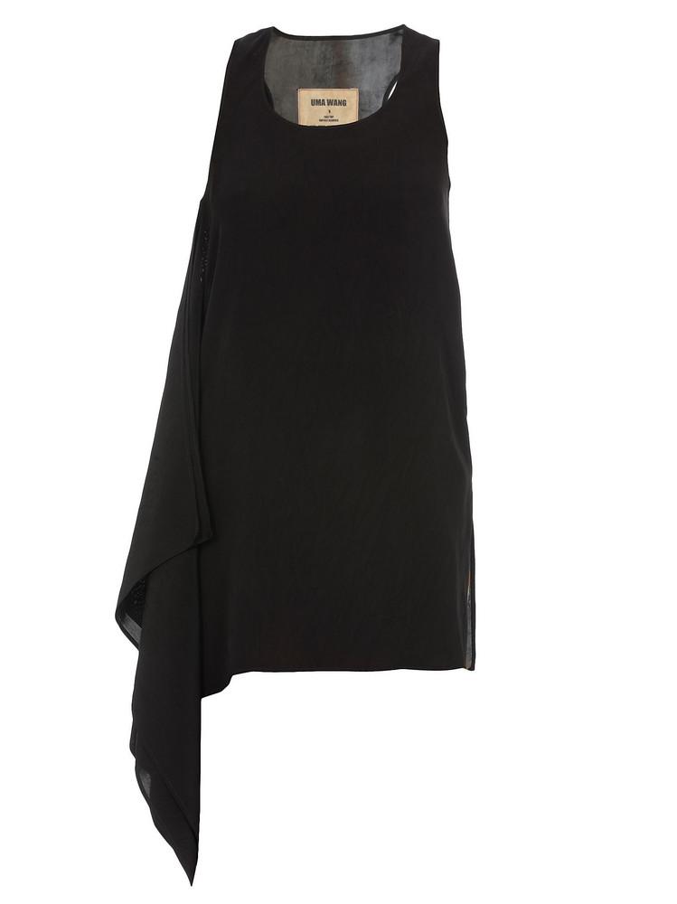 Uma Wang Tale Top in black