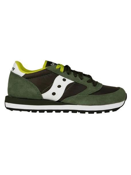 Saucony Logo Sneakers in green