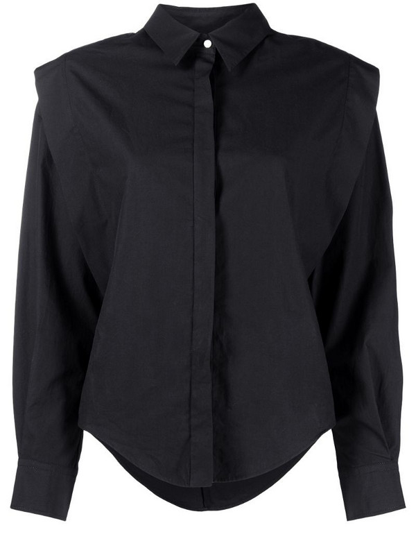 Isabel Marant Talki cotton shirt in black