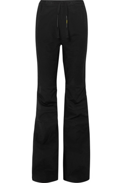TEMPLA - 3l Howqua Flared Ski Pants - Black