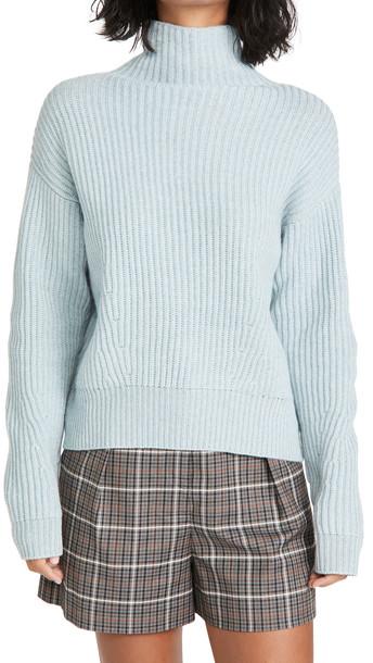 Le Kasha Verbier Sweater in blue