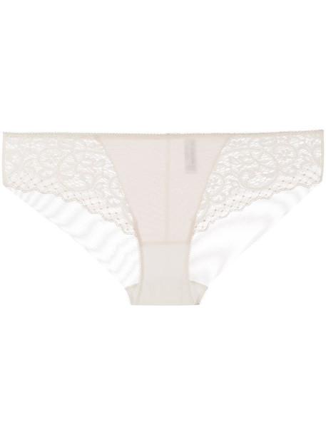 Wacoal lace essential briefs in neutrals