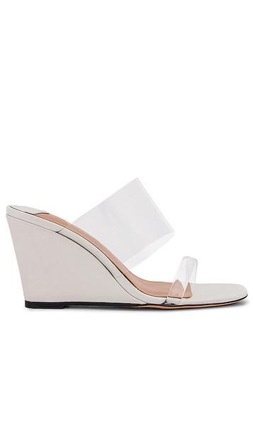 Tony Bianco Tanya Wedge Sandal in White