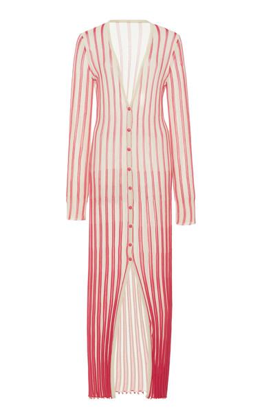 Jacquemus La Robe Jacques Cotton-Knit Maxi Dress Size: 38