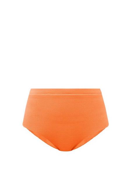 Cossie + Co Cossie + Co - The Lucinda High-rise Bikini Briefs - Womens - Orange