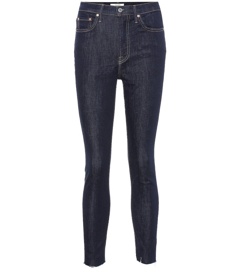 Grlfrnd Kendall high-rise skinny jeans in blue