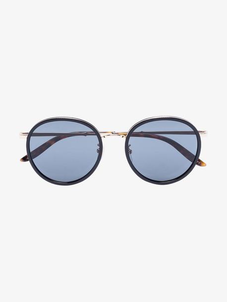 Gucci Eyewear black round sunglasses