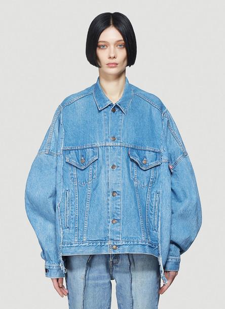 Bonum Classic Denim Jacket in Blue size One Size