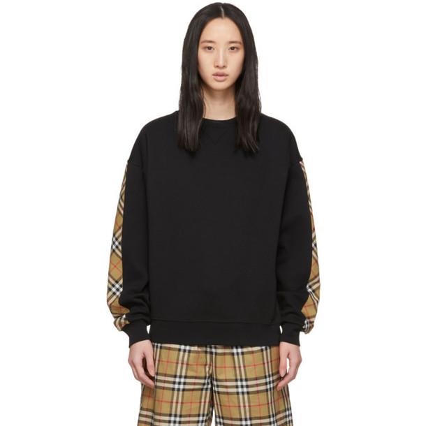 Burberry Black Bronx Sweatshirt