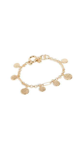 Gorjana Banks Bracelet in gold / yellow