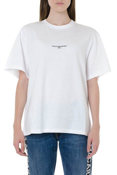 Stella McCartney White Jersey T-shirt Stella Mccartney 2001