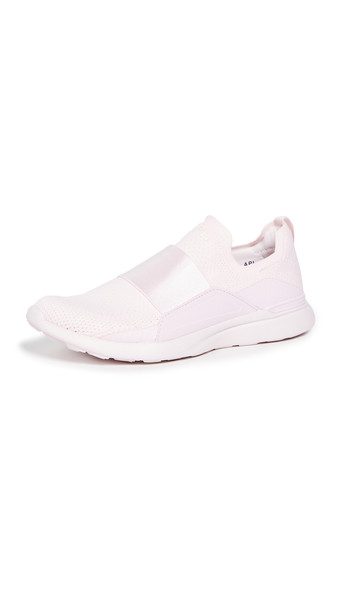 APL: Athletic Propulsion Labs TechLoom Bliss Sneakers in pink