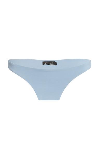 Haight Basic Low-Rise Bikini Bottoms in blue
