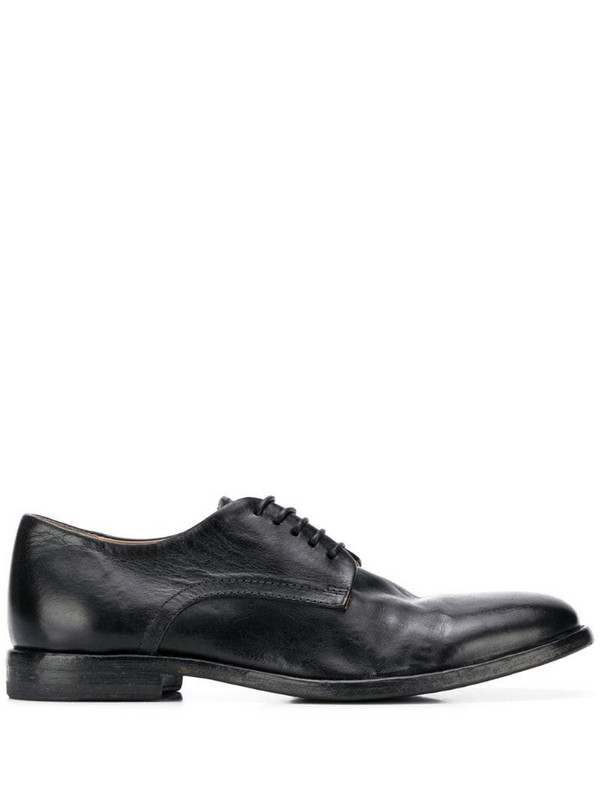 Moma Nottingham Derby lace-up shoes in black