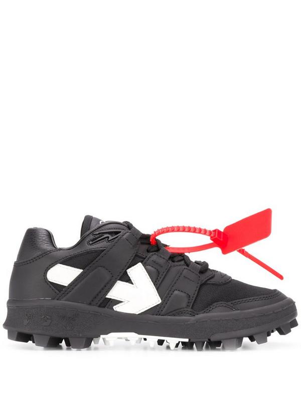 Off-White low-top Arrow sneakers in black
