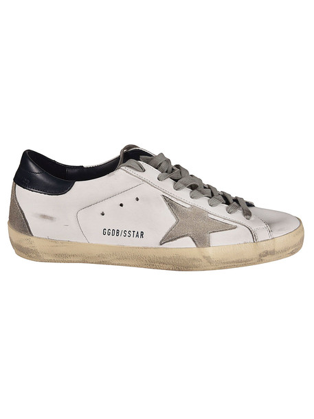 Golden Goose Superstar Sneakers in blue / white