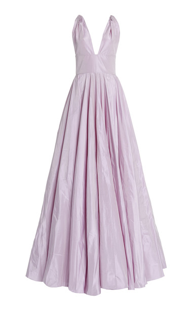 Leal Daccarett Dominga Gown in purple