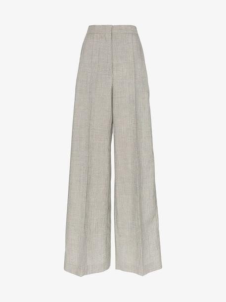 Jil Sander wide-leg tailored trousers in grey