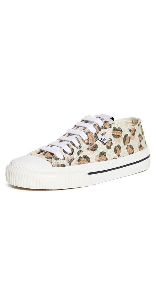 Axel Arigato Midnight Low Sneakers in leopard
