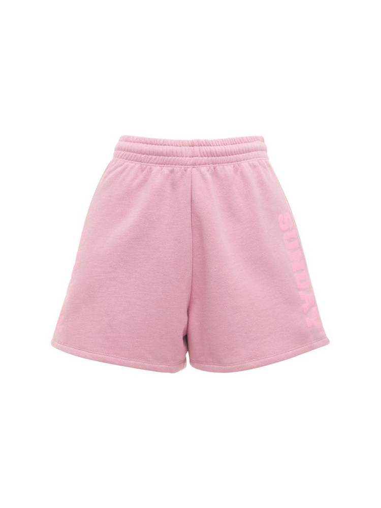 ROTATE Roda Sunday Capsule Jersey Shorts in pink