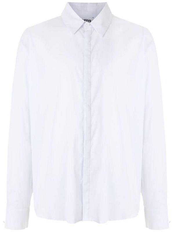 Uma - Raquel Davidowicz Luneta long sleeves shirt in white