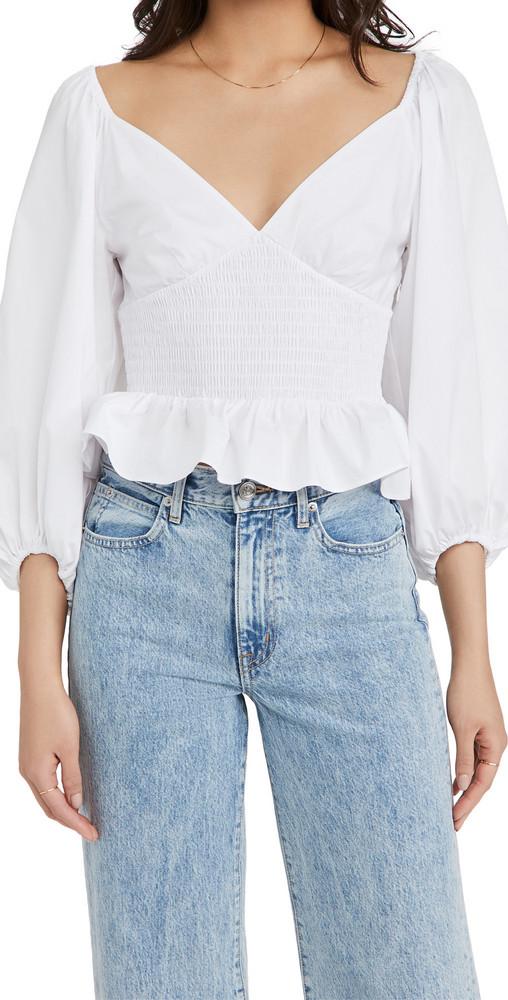 STAUD Matilde Top in white
