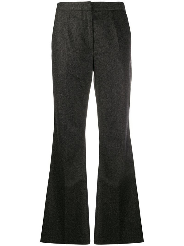 Christopher Kane flared tailored trousers in grey