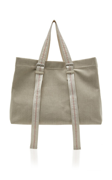 Off-White c/o Virgil Abloh Canvas Tote in neutral