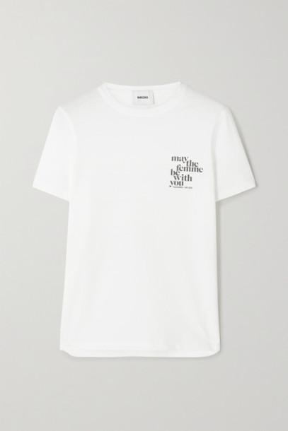 Nanushka - International Women's Day Printed Organic Cotton-jersey T-shirt - White