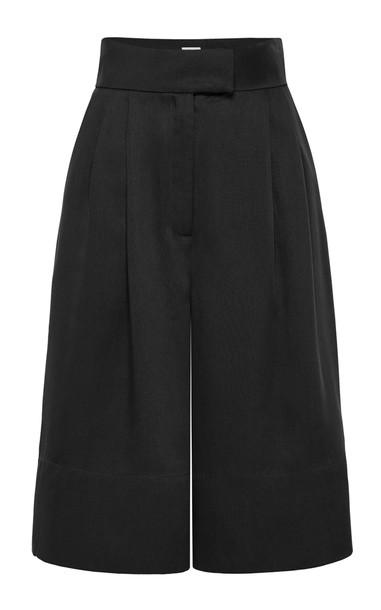 St. Agni Ode Tencel Shorts in black