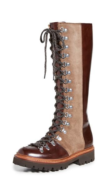Grenson Nanette Hi Boots in brown