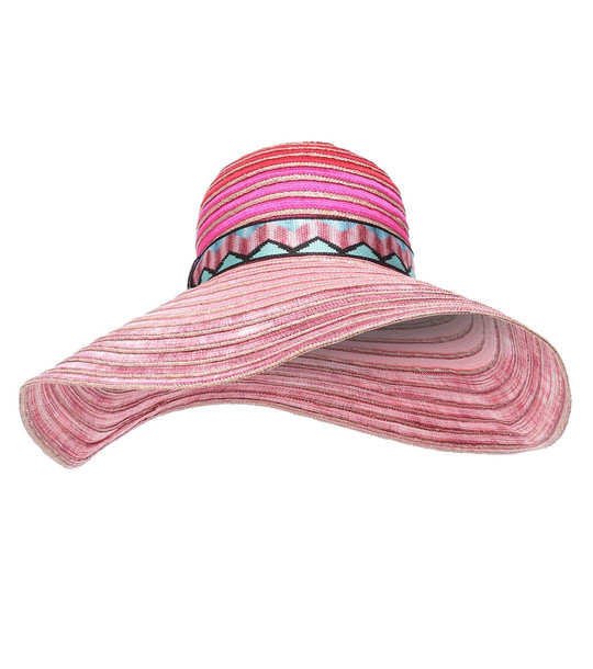 Missoni Mare Striped hat in pink