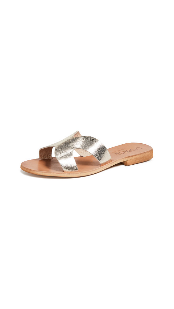 Cocobelle x L*Space Ios Slide Sandals in gold