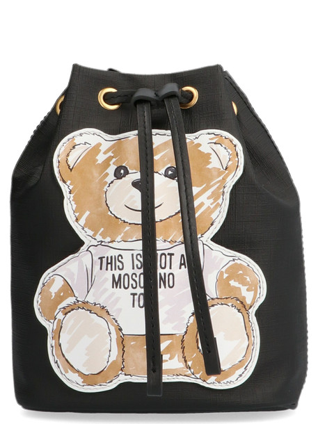 Moschino 'teddy' Bag in black