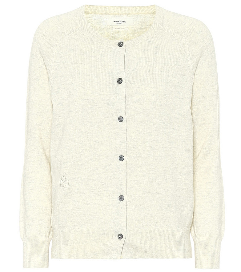 Isabel Marant, Étoile Napoli cotton-blend cardigan in beige
