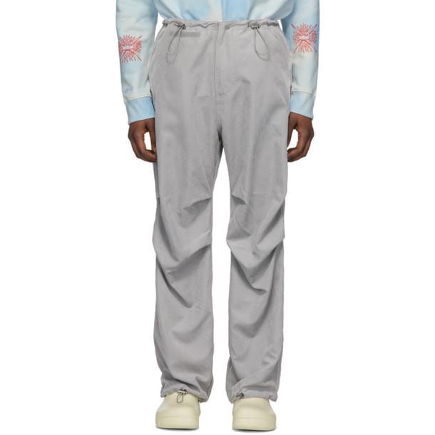 032c Grey Flap Pocket Trousers