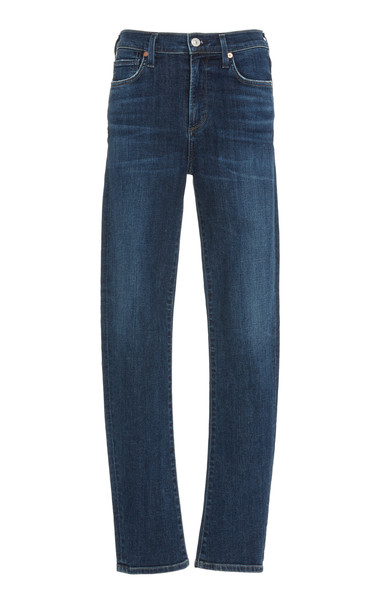 Citizens of Humanity Harlow High-Rise Slim-Leg Jeans Size: 25