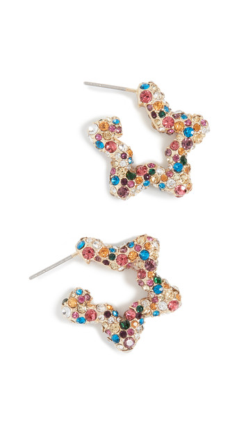 BaubleBar Corissa Drop Earrings in multi