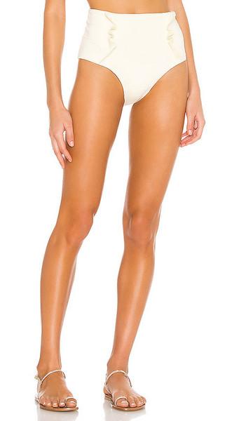 BOAMAR Coastal Breeze Passion Bikini Bottom in White in ivory