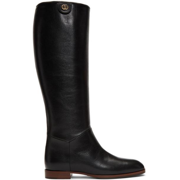 Gucci Black Rebelle Boot