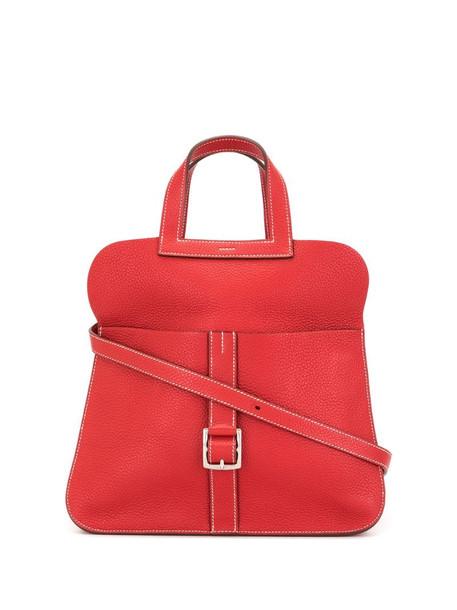 Hermès pre-owned Halzan 2way hand bag in red